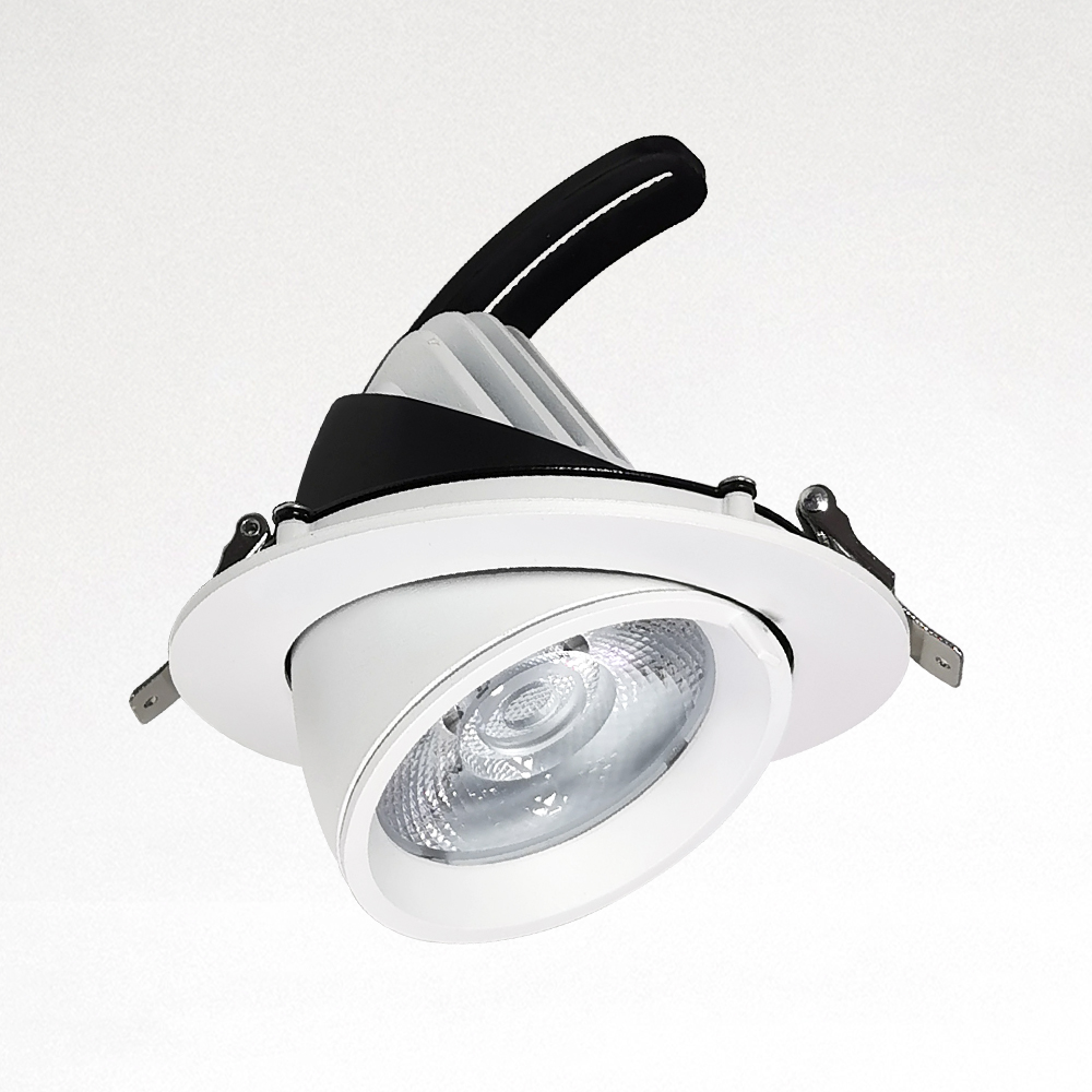 Bull-Eye Spot Light Lamp Spotlight LED Housing For Commercial Lighting Solutions