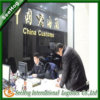 license for import and export customs goods business agent