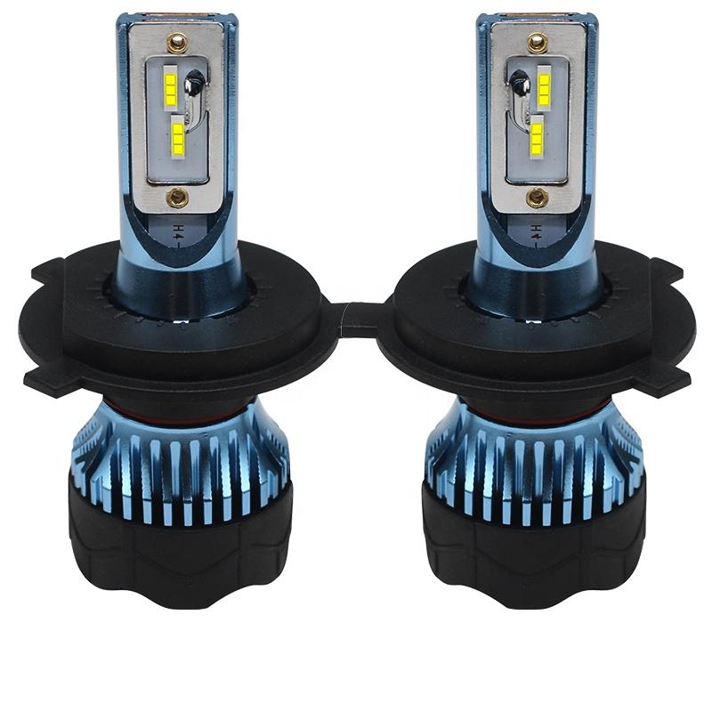 Blue 50W K5 CSP Luz LED H4 9004 9007 h13 9005 9006 h7 h11 h1 h3 880 881 h16 Headlight LED Bulbs