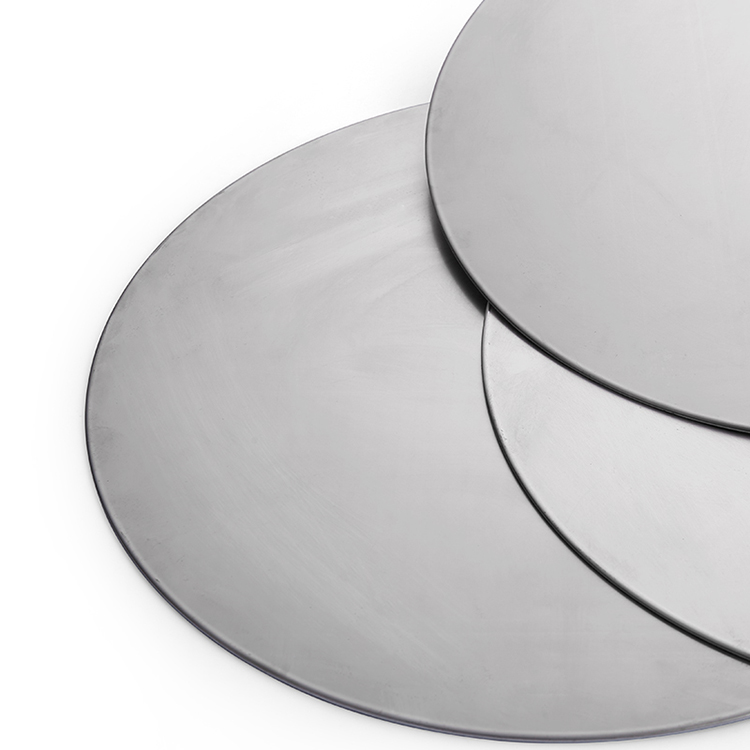 Three Layers Deep Drawing Food Grade Multilayer Metal Composite Material Stainless Steel + Aluminum Triply Circle