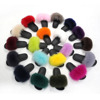 custom made color lady fur slipper