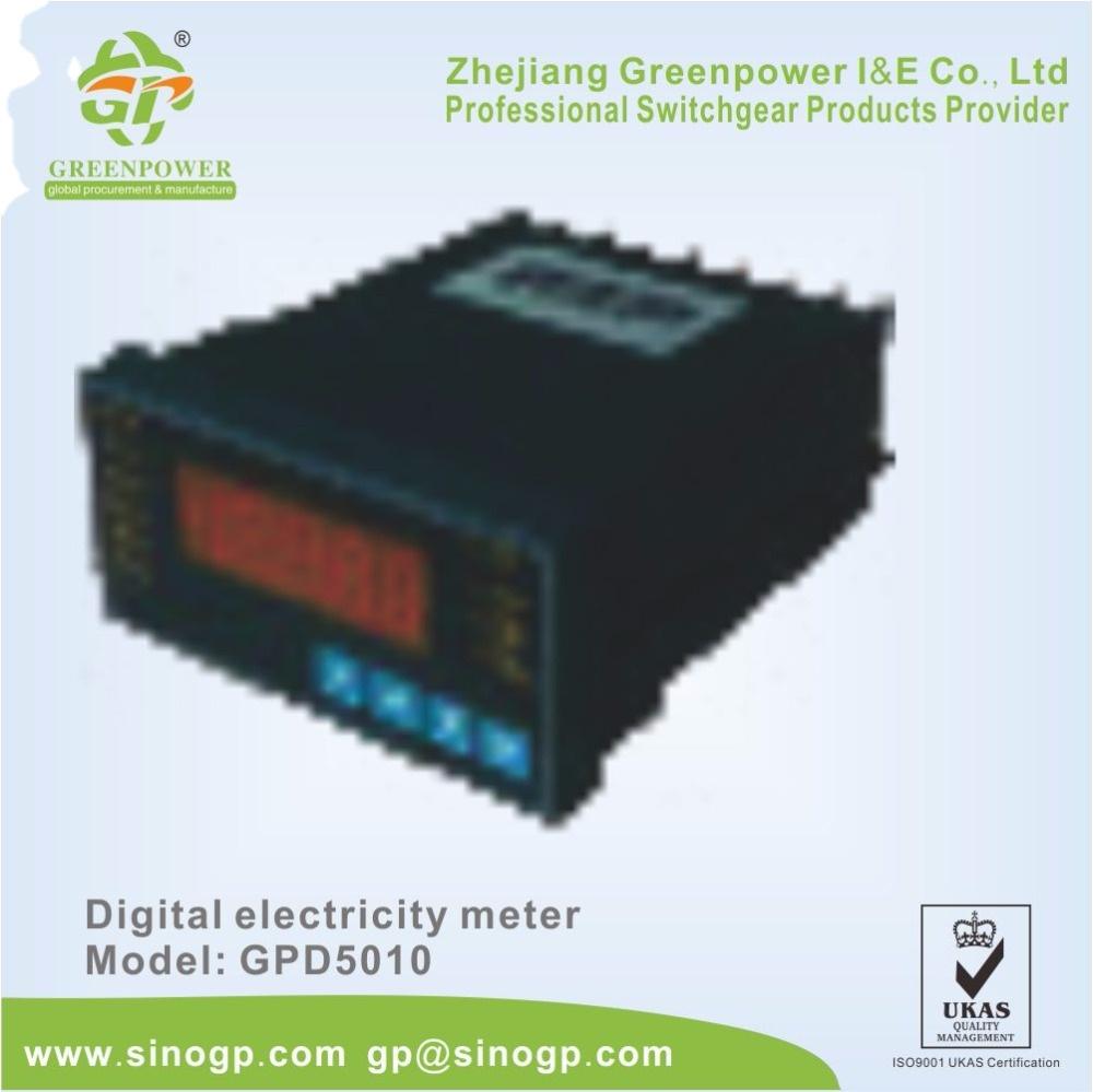 3-фазный цифровой счетчик электроэнергии счетчик энергии счетчик электроэнергии Электрический измеритель мощности щитовой измерительный прибор
