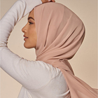 2021 Fashion Turban Instant Crinkle Hijab Other Soft Foulard Head Scarves Shawl Muslim Chiffon Headscarf Hijab Scarf For Women
