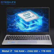 16 Гб ОЗУ ТБ/500/1000 Гб HDD 128 Гб SSD 15,6 дюймов игровой ноутбук i7 ноутбук ПК металлический бизнес AZERTY итальянская испанская Русская клавиатура(Китай)