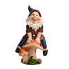 Climbing Mushroom Polyresin Gnome