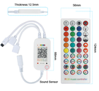 12v 5050 Rgb Led Strip Ledrgbrgb Colour Changing 12v 5050 Smd Rgb Phone App Smart Led Strip Music Control