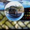 clear crystal ball ornaments
