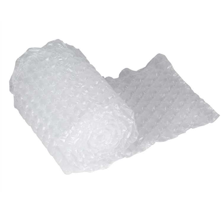 Buble Cushion Wrap Plastic Air Bubble Cushion Wrap Column Packaging Film Roll Buffer