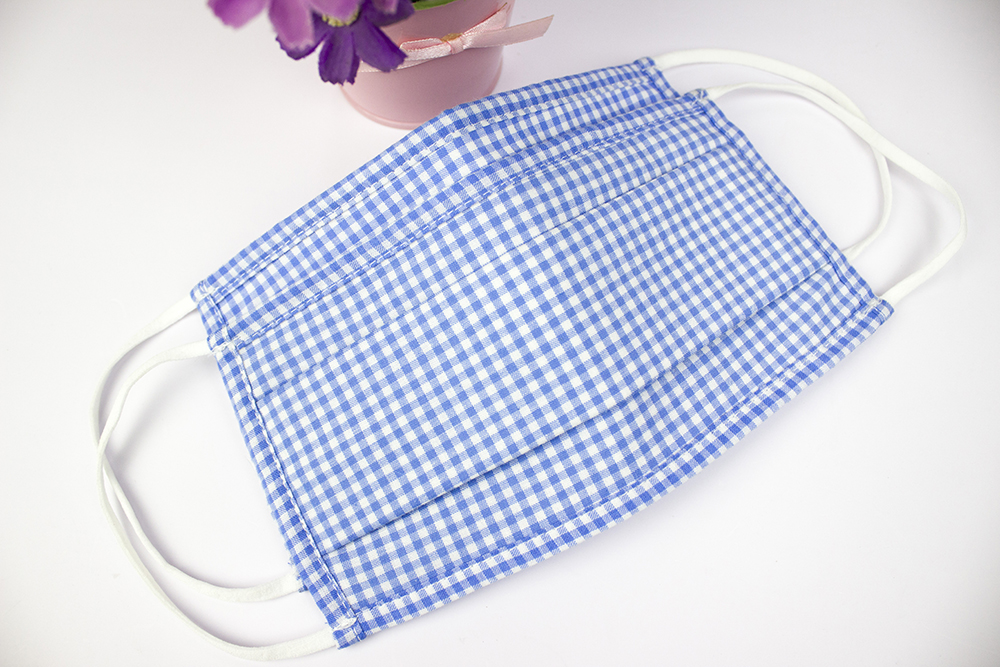 High Quality Folding Comfortable 3 Layer Cloth Fabric Cotton Washable Face Mask Reusable