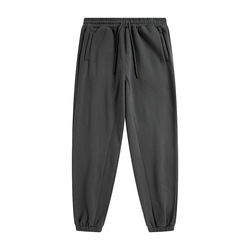 wholesale high quality loose fit pants custom logo trousers street wear oversized sweatpants men's jogger pants
