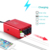 300W Dual USB DC 12V to 110V AC Vehicle Adapter Aluminum Car Power Inverter for Wholesale