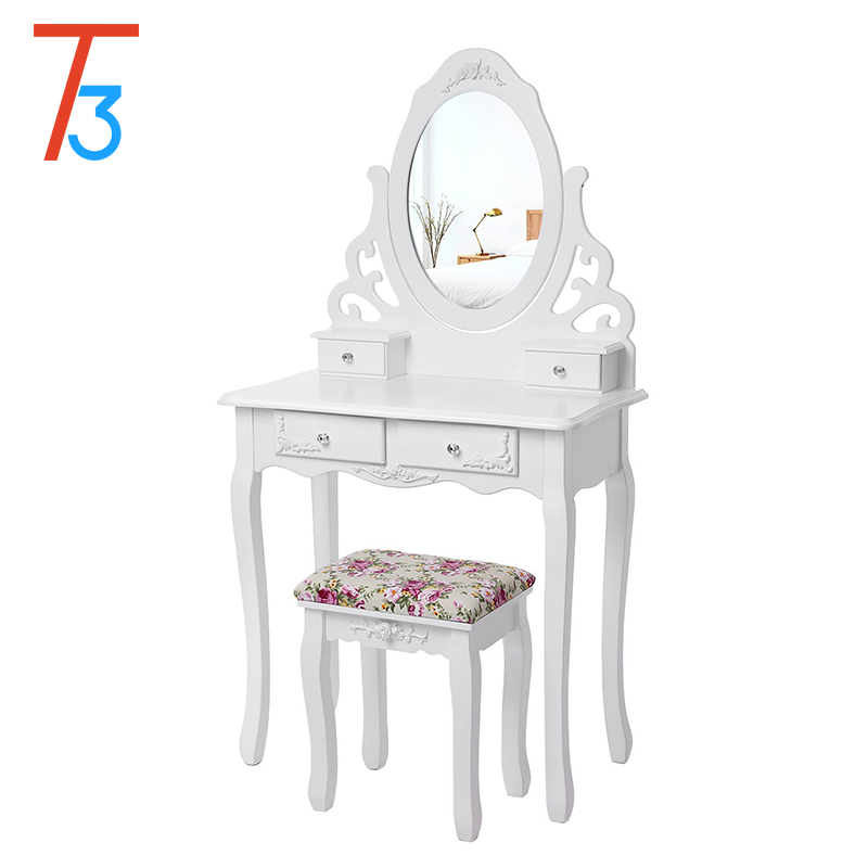 white makeup used wicker wood furniture dresser with mirror buy wood furniture dresser white furniture dresser makeup with chair and with mirror dresser product on alibaba com