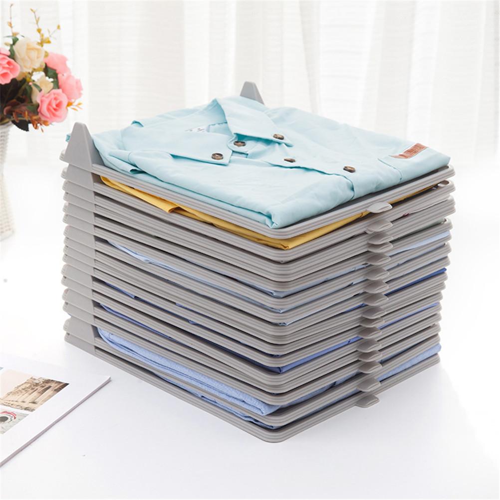 Clothes Folding Board T Shirts Folder Organizer Clothing Storage Folding Board Laundry Folders Garment Board Quick
