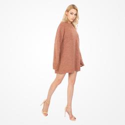 2021 Hot Sales Wool Oversized Pullover Sweatshirt Coat Dress Women Sweater Casual