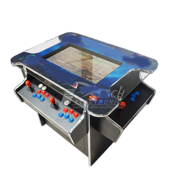1162 in 1 arcade games 3 side 4 player cocktail table arcade machine
