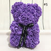 25cm of bear Purple