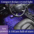 Kits Car Atmosphere Light For Car NEWWAY A10 Updated USB 5V Automotive Decoration LED Night Light Kits Foot Mat Atmosphere Light For Car Interior LED Star Light