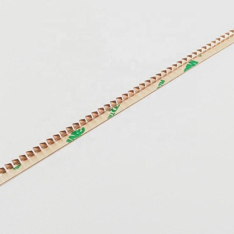 EMI RF shielding gaskets beryllium copper shrapnel finger strips for MRI room