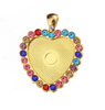 GOLD+colored diamond