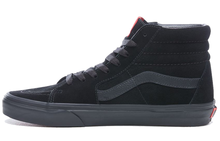 Оригинальные красные туфли Vans Sk8 для мужчин и женщин в стиле унисекс; Классические кроссовки средней высоты; Обувь для скейтбординга; VN0A391FOXS()