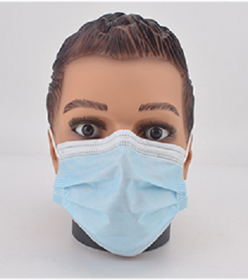 Mask Protection 3Ply Earloop Disposable Face Mask KN95 Melt-blown fabric Manufacturer