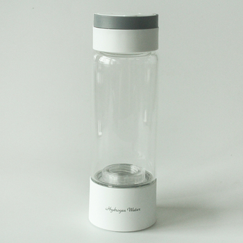 400ML portable design SPE/PEM hydrogen water generator with self-cleaning function with Portable Water Filter Cartridge