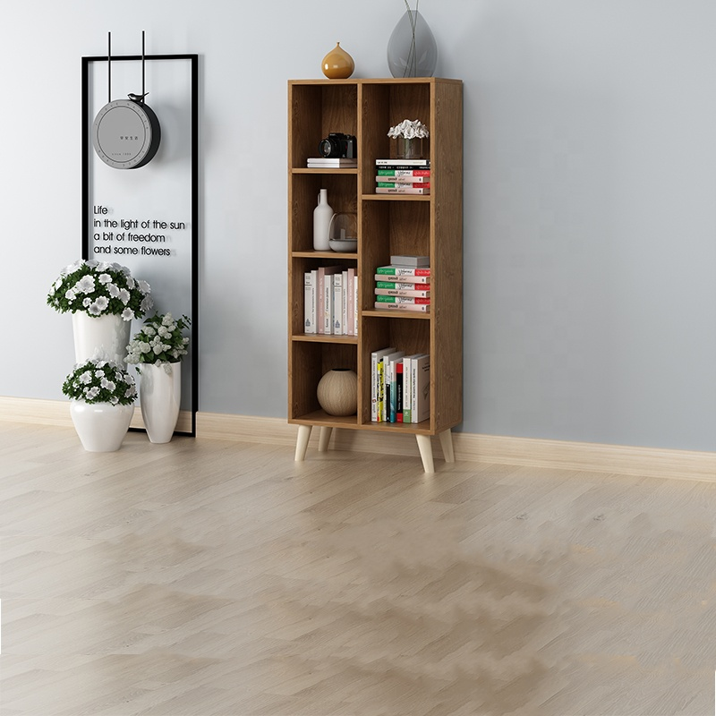 Wooden Bookcase With Cube Storage Unit Bookshelf Free Standing Shelves With Door Legs Buy Hdf Wood Bookcases Home Used Modern Style Wooden Book Cabinet Bookshelf For Office Room Bookcase Product On Alibaba Com