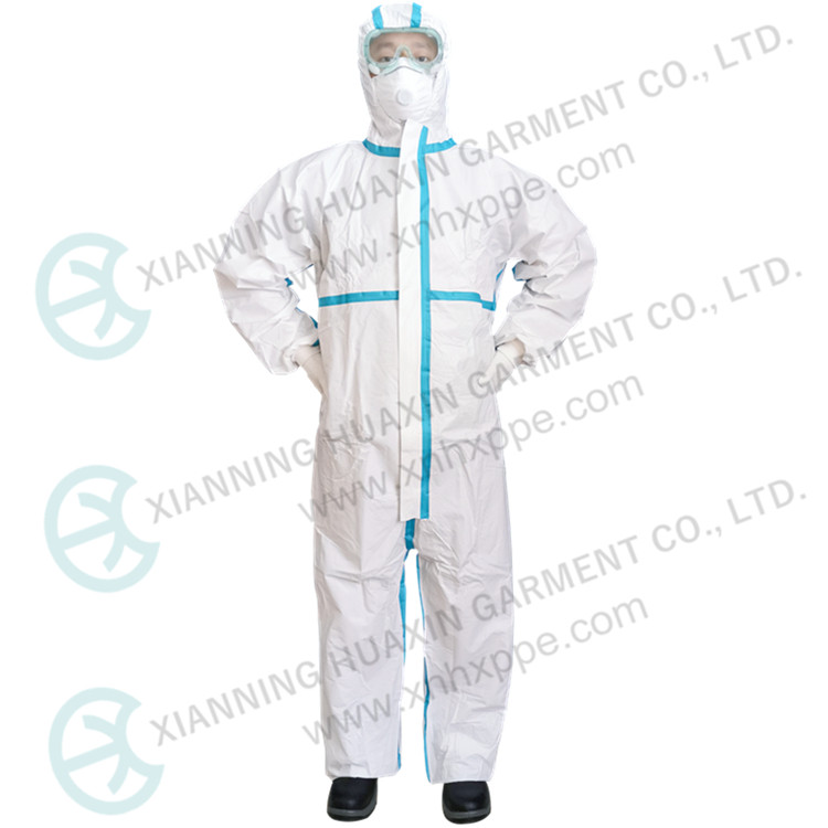 High Performance Protection Clothing Disposable Coverall - KingCare | KingCare.net