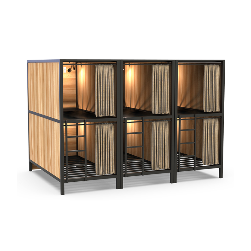 Police, airport nap bed sleep pod for resorts, Hotel, School, youth hostel use hotel bunk bed