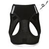 Black chest strap+leash