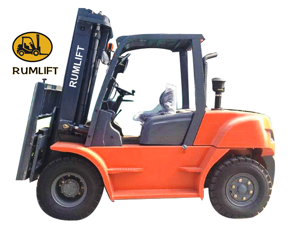 Diesel Forklift truck Fork Lifter 5Ton 5000kg/6000kg/7000kg/8000kg CE,ISO9001,PSI