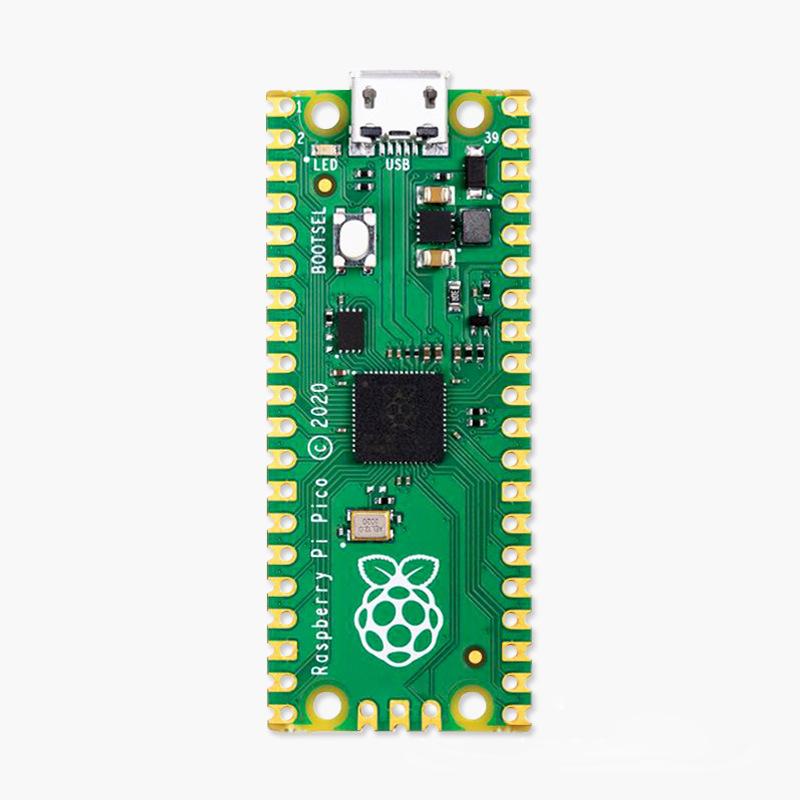 Raspberry Pi Pico Development Board Using RP2040 Dual-Core Arm Cortex-M0+ Processor With 264KB RAM