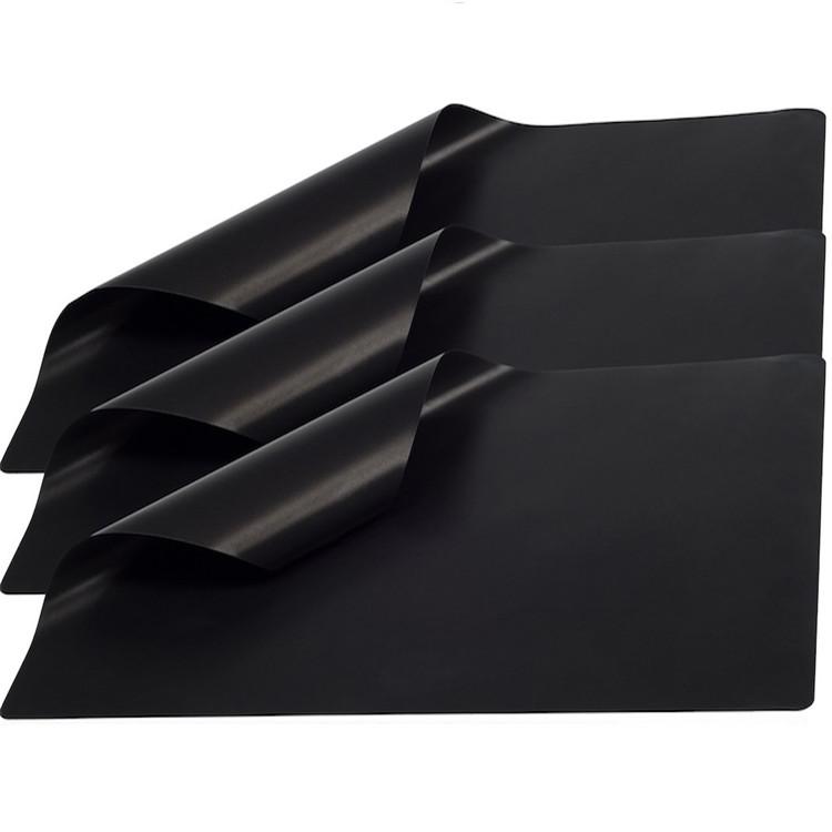 0.2mm 0.4mm Thickness Reusable FireProof Food Grade BBQ Mat Grill Mat ----SYR