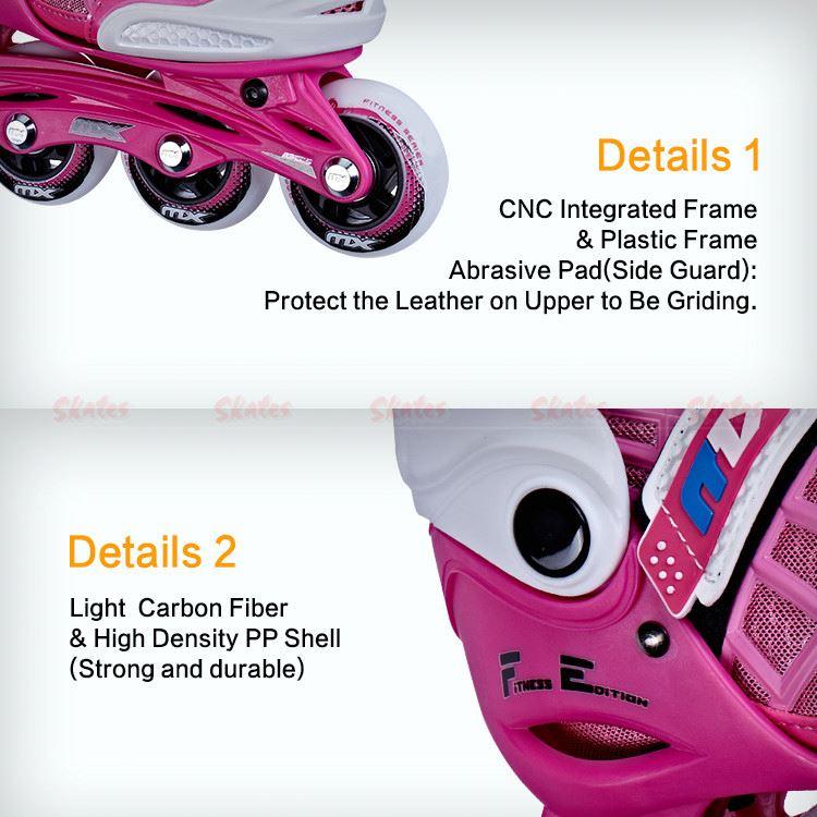 MX KF300 регулируемые Интеллектуальные коньки для девочек