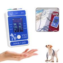 Baga AM6100 Vital Signs Monitor Multiparâmetro Para Animais de Estimação Do Gato Do Cão Animal do Dispositivo Médico