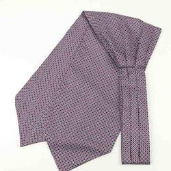 Мужской винтажный галстук в горошек для свадьбы, Официальный галстук Ascot Scrunch Self в британском стиле, гладкий шелковый галстук из полиэстера, роскошный