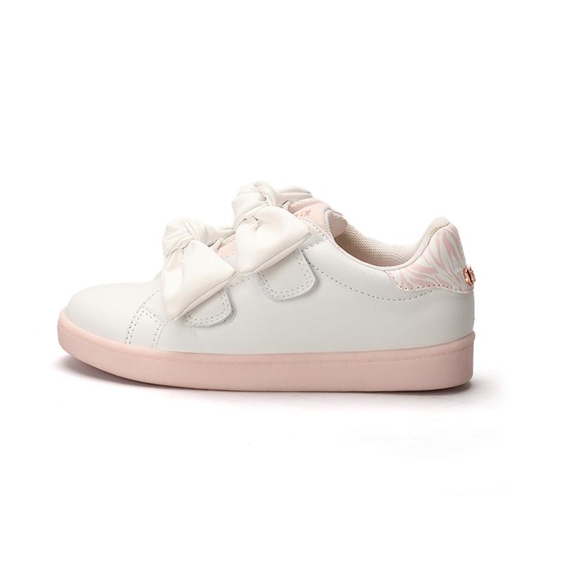 2021 высококачественная повседневная обувь для девочек, детские уникальные кроссовки с бантом и индивидуальным дизайном
