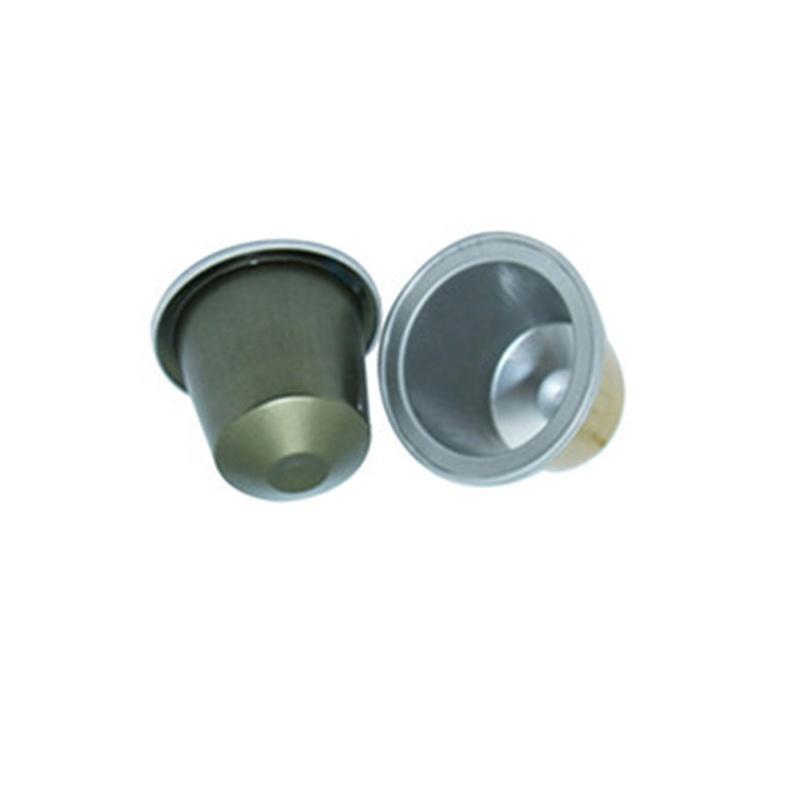 Пустые капсулы для кофе эспрессо из цветной алюминиевой фольги, 15 мл