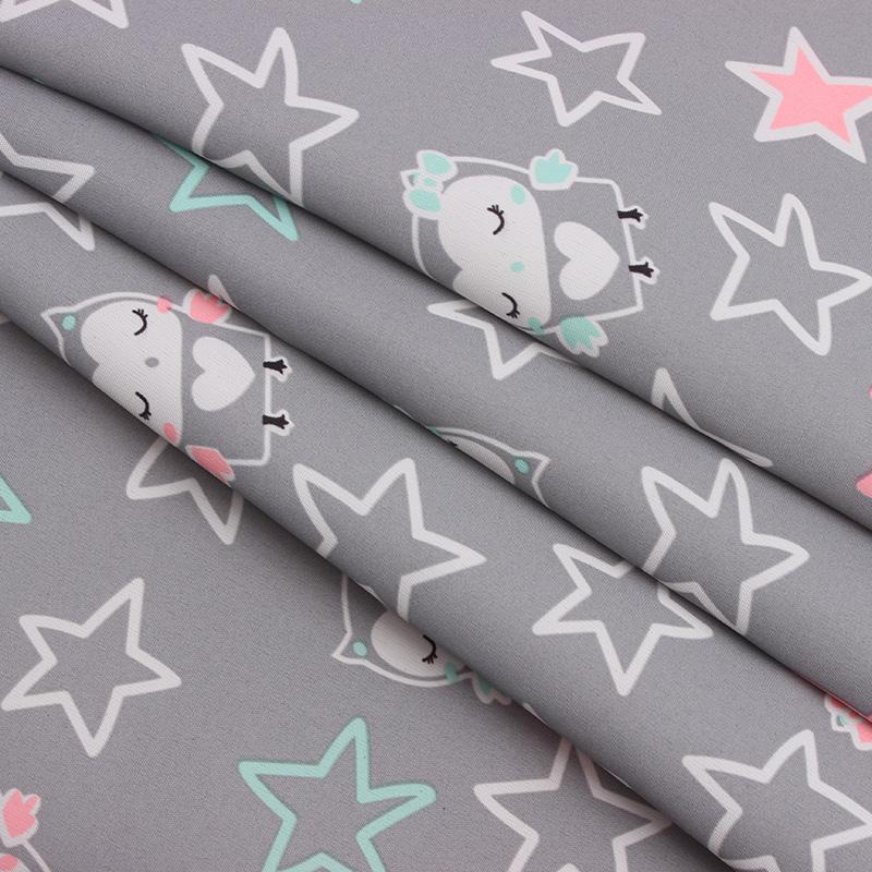 Best Price 228T Twill Peachskin cartoon Printed Fabric For Children Clothing