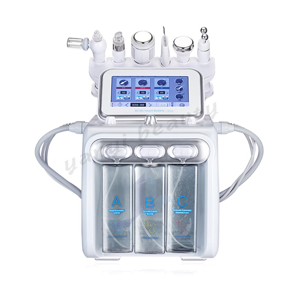 Кислородный спрей YanYi 6 в 1, косметическое оборудование для ухода за кожей лица