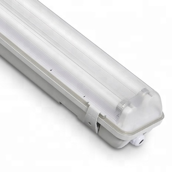 High quality led tube ip65 t8 fixture fluorescent lamp with CE CB GS ERP