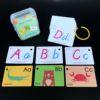 Новинка, верхняя одежда для детей с рисунком букв алфавита