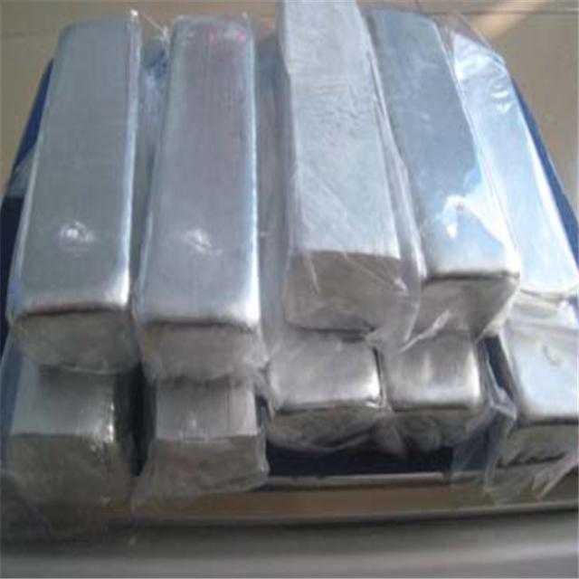 Factory Selling Pure Indium Ingot Silver White Metal