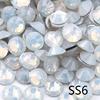 SS6-White Opale Con Strass