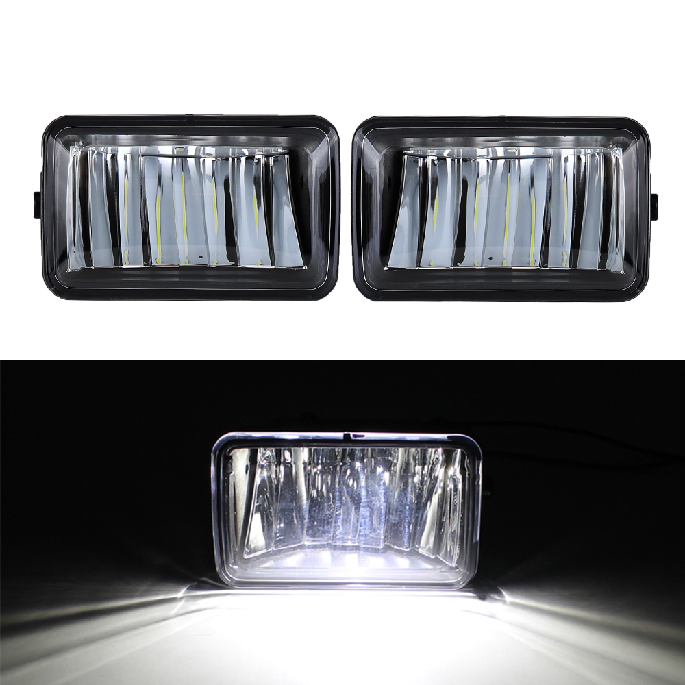 Replacement for Ford F150 2015-2020 F-150 Fog Driving Lamp Assembly LED Fog Light