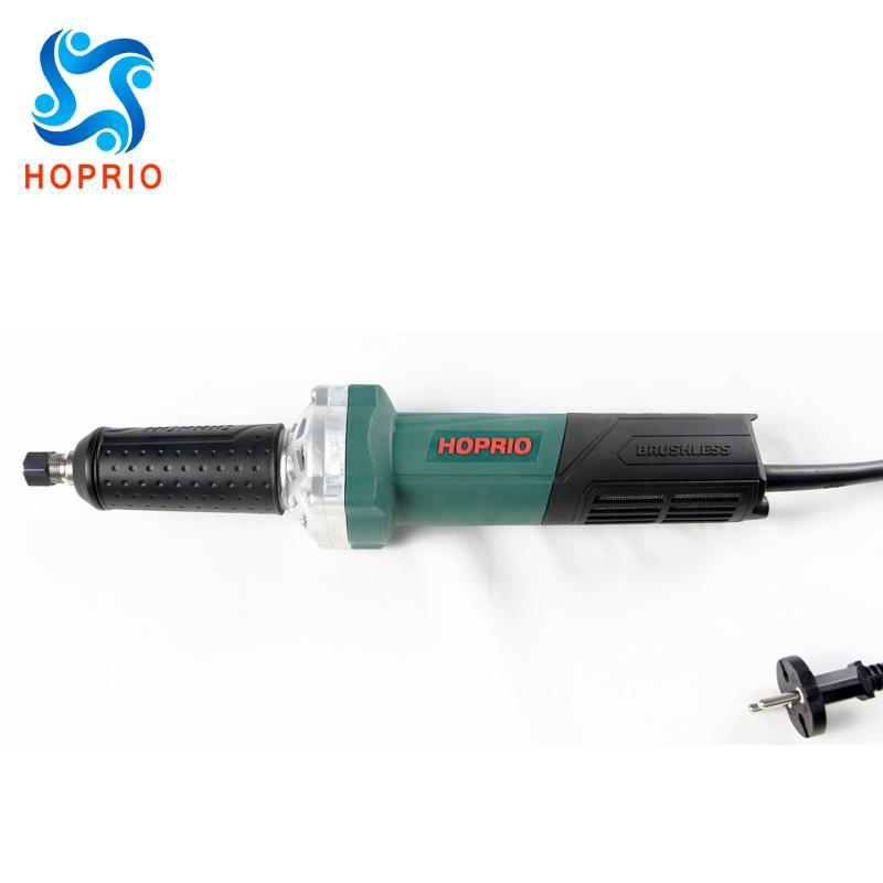 HOPRIO угловая шлифовальная машина с длинной шеей 1050 Вт бесщеточная шлифовальная машина 6 мм 6,35 мм 8 мм