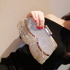 Crystal Clutch Bag Clutch Evening Bags Hot Sale Diamond Fashion Elegant Crystal Clutch Bag Evening Rhinestone Lady Handbags With Tassels