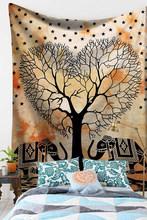 Гобелен с животными, акварельные настенные Висячие Слоны, настенные гобелены, богемные обои для дерева, мандала, Настенный декор 230 200 150(Китай)