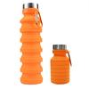 Orange Silikon Flasche