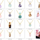 Necklace Necklace Stone Pendant Stone Crystal Necklace Real Quartz Perfume Pendant